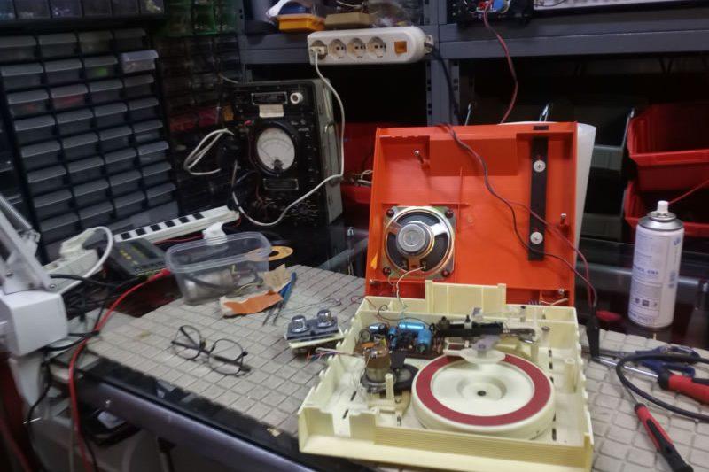 Il Laboratorio del radiotecnico