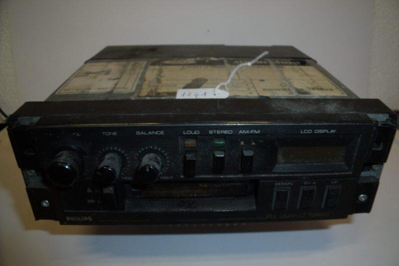 Autoradio con cassette PHILIPS PLL QUARTZ TUNING